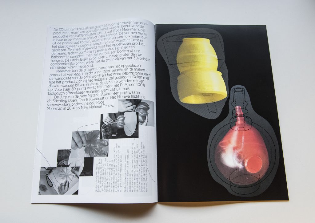Aera Fabrica Fellowship publication. Photo Petra van der Ree